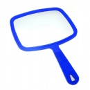 single side square handle makeup mirror